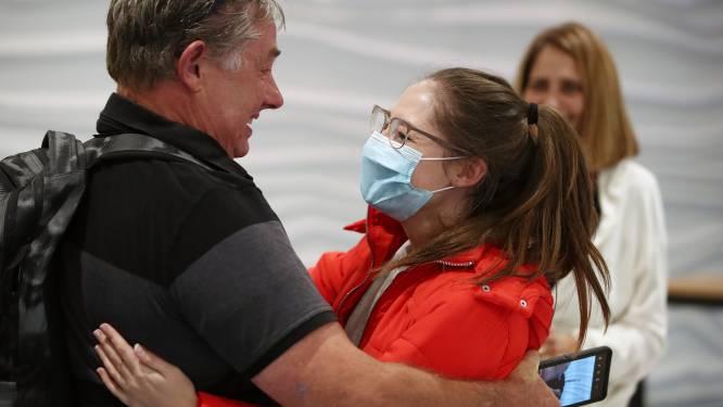 Tranen van puur geluk: honderden families herenigd door reisbubbel tussen Australië en Nieuw-Zeeland