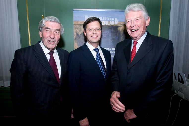 Ruud Lubbers, Jan Peter Balkenende en Wim Kok. Beeld anp