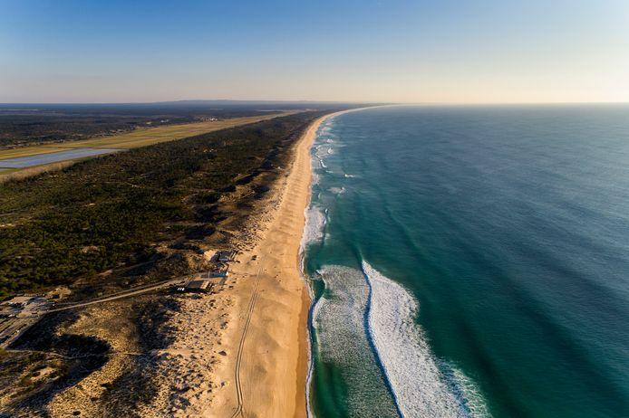 L'interminable plage déserte de Comporta