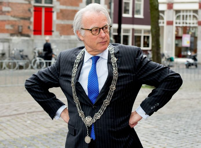 Burgemeester Jozias van Aartsen.