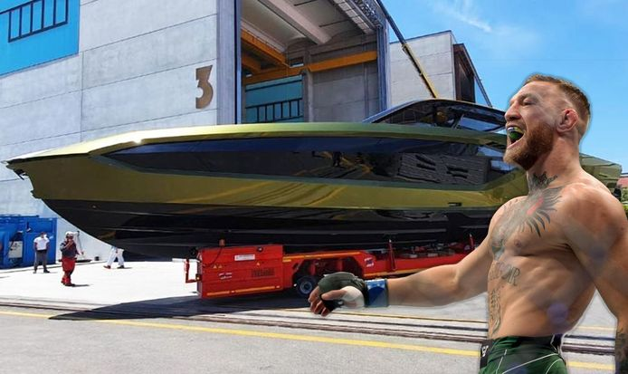 Le dernier yacht de luxe de Conor McGregor.