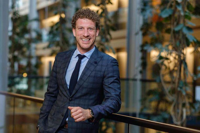 Christophe Vermeulen werkte verschillende jaren als parlementair medewerker voor CD&V. Beeld Facebook