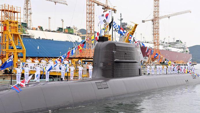 Een onderzeeër van 3.000 ton van het Zuid-Koreaanse leger, genoemd naar activist Ahn Chang-ho en aangedreven door een dieselmotor. De nieuwe ballistische raket die vanop een onderzeeër kan worden gelanceerd, moet Zuid-Korea beschermen tegen de buren van Noord-Korea.