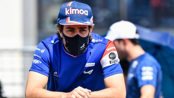 Fernando Alonso rijdt ook in 2022 voor Alpine F1 Team