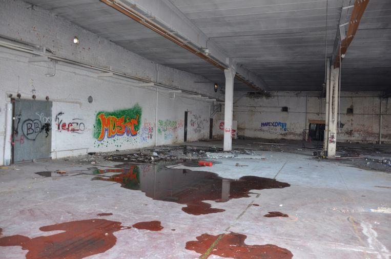 De verloederde site vormde de afgelopen jaren een aantrekkingspool voor krakers en vandalen.