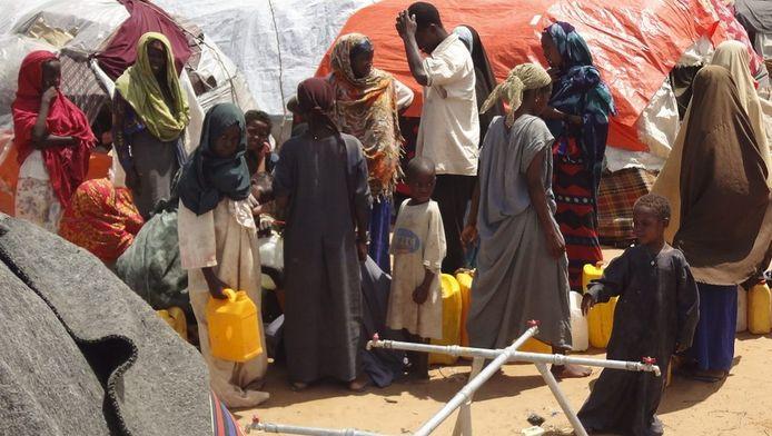 Somalische vluchtelingen.