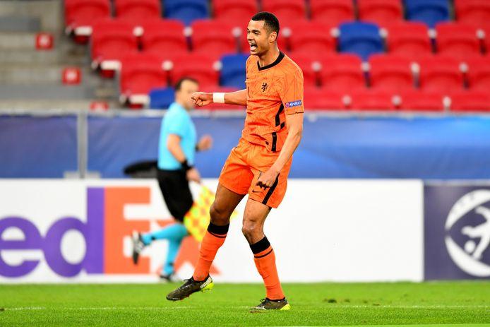 Cody Gakpo was belangrijk voor Jong Oranje tijdens de groepsfase van het EK en maakt nu deel uit van de voorselectie van het 'grote' Oranje.