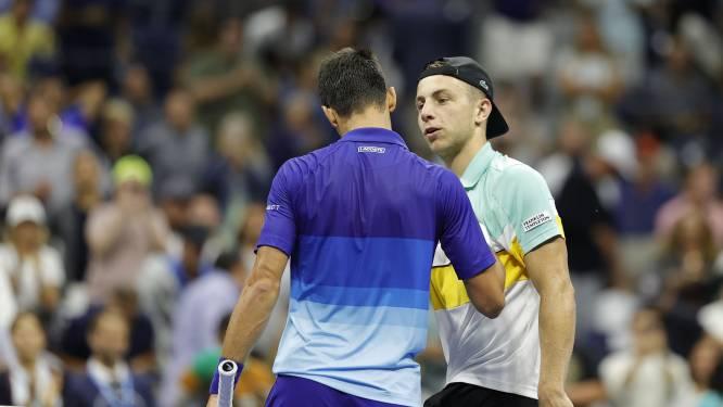 Griekspoor hapklaar brokje voor Djokovic: 'Ik heb me totaal niet lekker gevoeld'