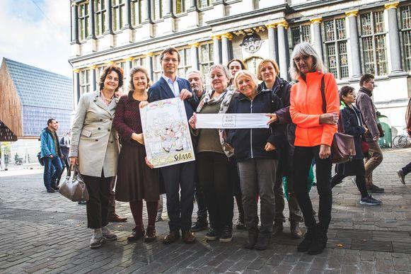 De actiegroep SOS Sint-Anna komt maandag naar de gemeenteraad.
