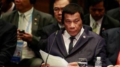 """Na drugs jaagt Duterte nu op communisten: """"Ik richt een doodseskader op"""""""