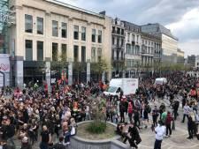Un millier de personnes ont traversé Liège dans le calme