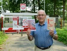 Het poortblaadje sterft een zachte dood, maar Henk Kuijpers (87) houdt bij Unitas vast aan traditie