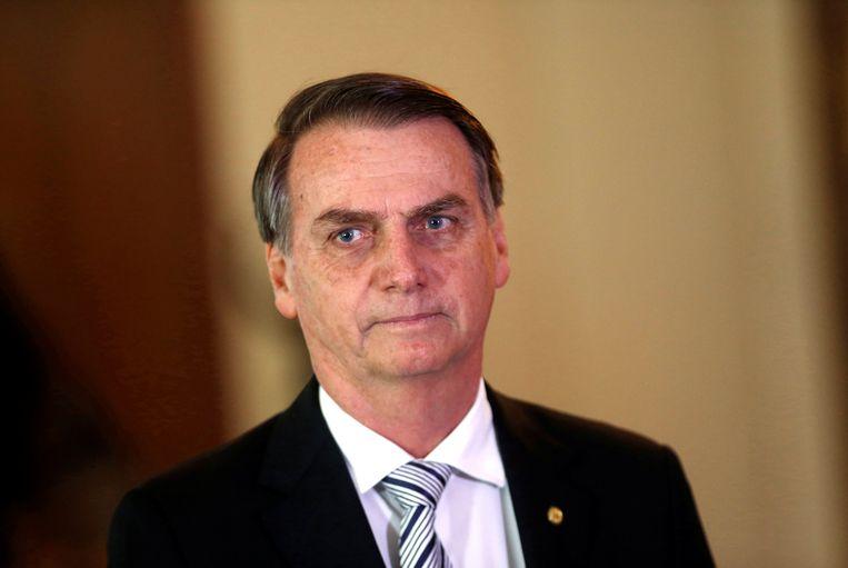 Toekomstig president van Brazilië Jair Bolsonaro. Beeld REUTERS