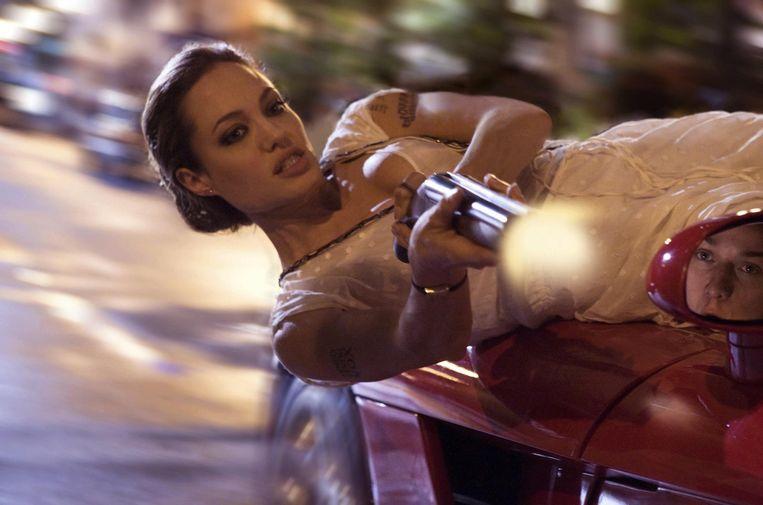 Angelina Jolie in Wanted van Timur Bekmambetov. Beeld