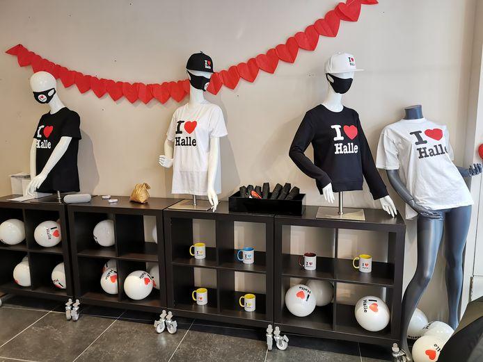 De I Love Halle-pop up opende voor het eerst de deuren.