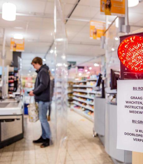 Scherpenzeelse winkeliers krijgen'shoplicht': bij groen naar binnen, rood is wachten