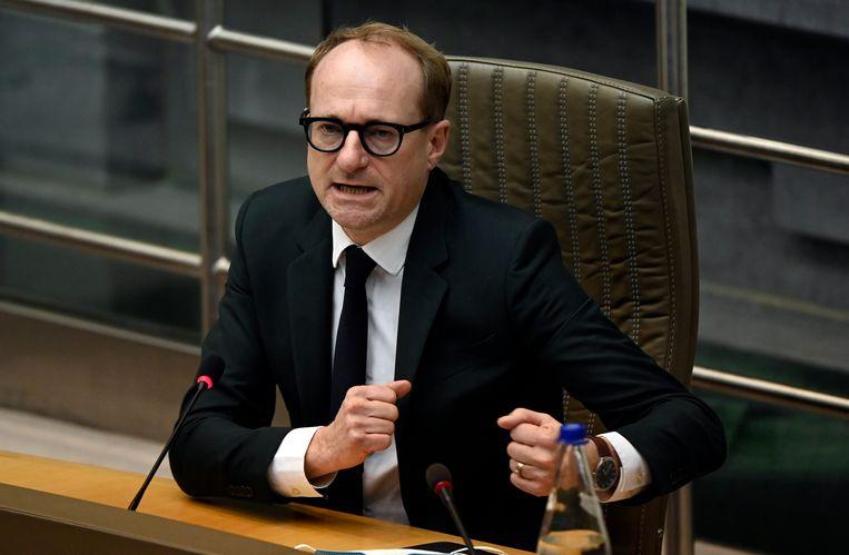 Vlaams minister van Onderwijs Ben Weyts. Beeld Photo News