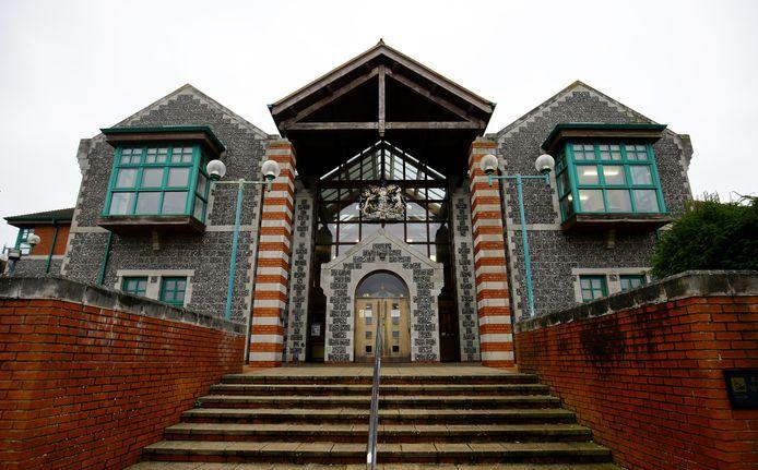 De rechtbank van Canterbury.