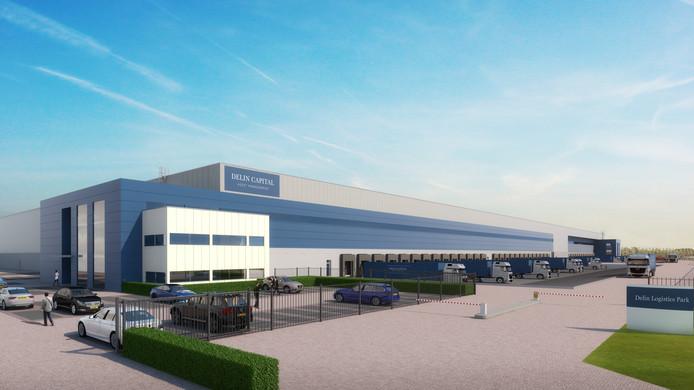 Het nieuwe distributiecentrum wordt 6 hectare groot