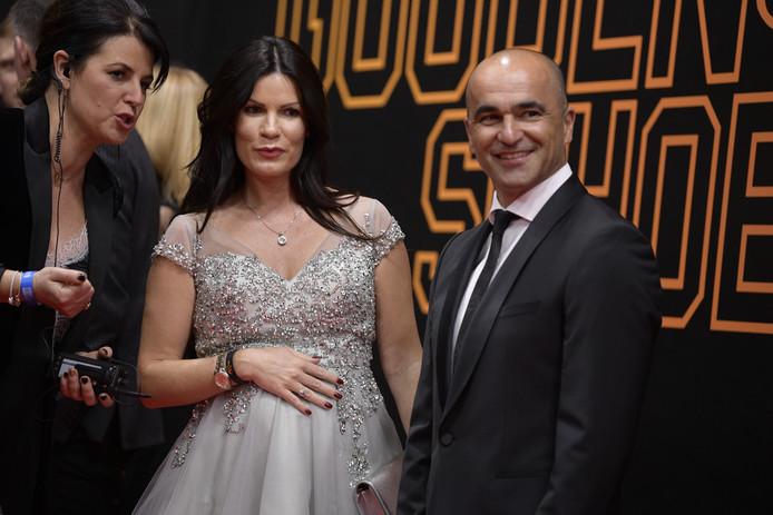 Roberto Martinez et son épouse Beth Thompson