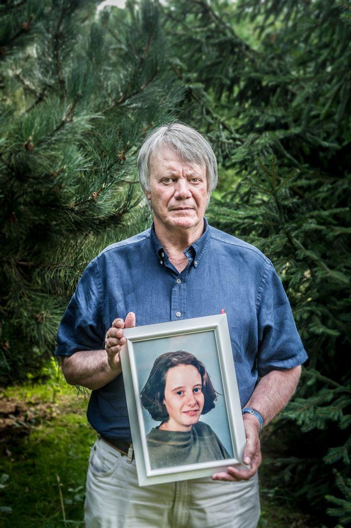 Jean Lambrecks, de vader van de door Dutroux om het leven gebrachte Eefje.