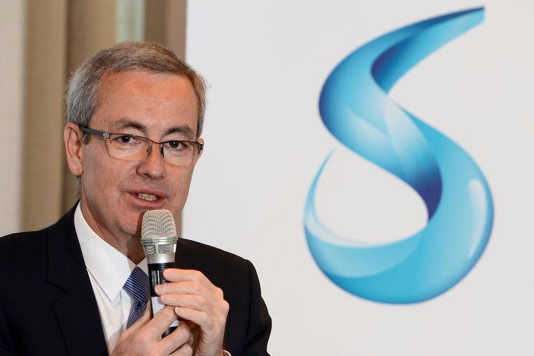 Solvay-CEO Jean-Pierre Clamadieu. Beeld BELGA