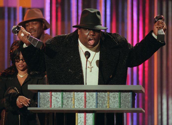 The Notorious B.I.G. op de Billboard Music Awards (New York) in 1995