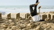 Dans de zomer in op het strand op zesde editie van Dansand