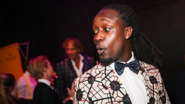 Rapper, theatermaker, acteur én presentator Akwasi is te gast in Nooit meer slapen. Beeld null