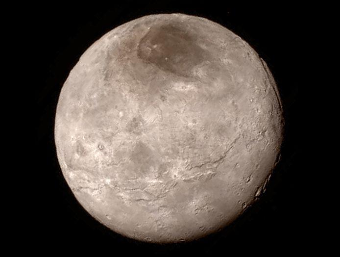 Charon, Pluto's maan.