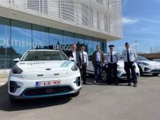 Politie Brugge investeert in elektrische wagens