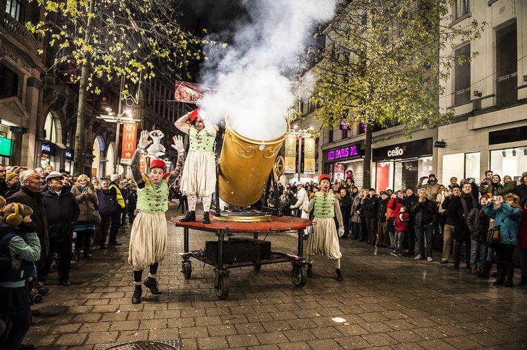 T Stad Smult Van Winter In Antwerpen Antwerpen In De Buurt Hln