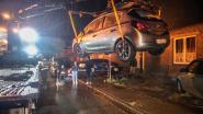 Jonge chauffeur zonder rijbewijs rijdt met onverzekerde wagen drie geparkeerde auto's aan in Eine