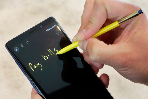 Net zoals zijn voorgangers zal de Samsung Galaxy Note 10 vergezeld worden van een pennetje.