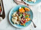 Wat Eten We Vandaag: Geroosterde groenten met geitenkaas