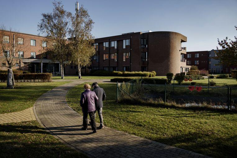 Woon-zorgcentrum Sint-Eligius in Zeveneken. Beeld Eric De Mildt