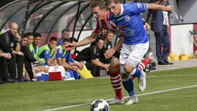 FC Den Bosch moet Jordy van der Winden maanden missen door zware knieblessure