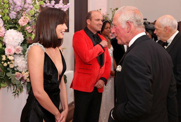 Prins Charles en Ana de Armas.