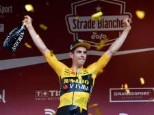 Van Aert wint koers waarop hij verliefd is: 'Grote doel was ooit de Strade te winnen'