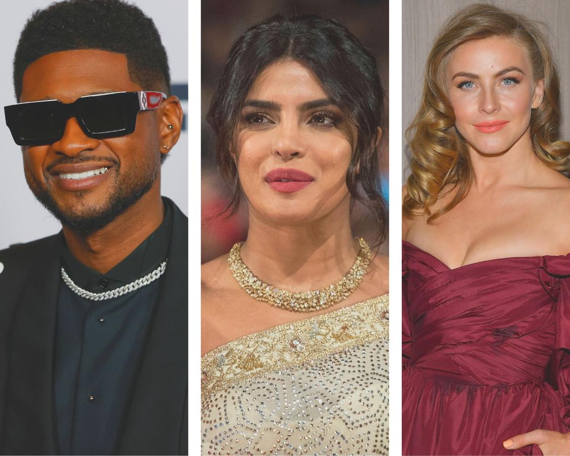 L'émission sera présentée par des stars telles que Usher, Priyanka Chopra et Julianne Hough (montage 7sur7).