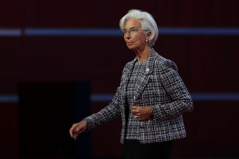 IMF-baas Christine Lagarde. Beeld Getty Images
