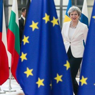 Britten huiveren bij Brexit-akkoord May