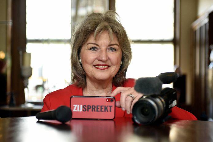 Marga Miltenburg pleit voor meer vrouwelijke sprekers in de media en op congressen.