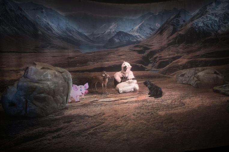 Het dier, het dier en het beestje van Theater Artemis. Beeld Artemis