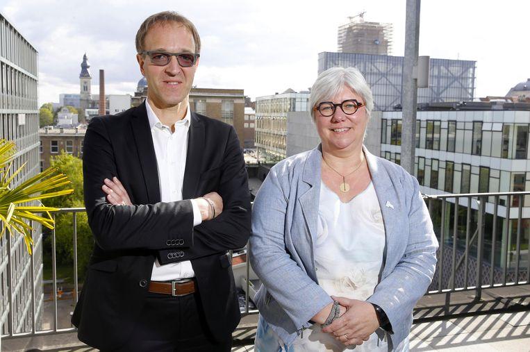Rik Van de Walle en Mieke Van Herreweghe waren tijdens de vorige cyclus al kandidaat.  Beeld BELGA