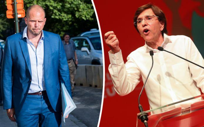 Theo Francken krijgt kritiek van onder anderen ex-premier Elio Di Rupo.