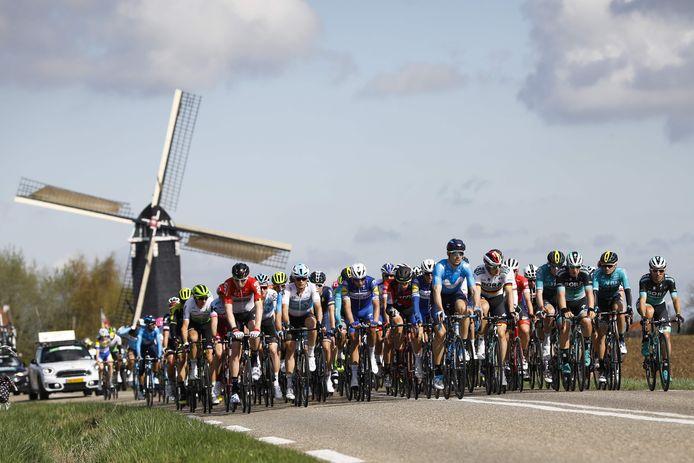 De Amstel Gold Race is dit jaar fel hertekend door de gevolgen van het coronavirus.