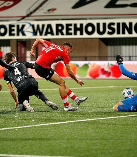 Streppels Roda JC maakt met gestolen overwinning einde aan fraaie reeks van Helmond Sport