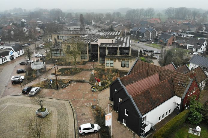 Het centrum van Tubbergen zal ingrijpend veranderen met de bouw van het Glashoes.