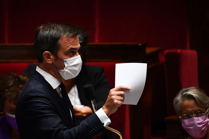 Franse Minister van Gezondheid Olivier Véran.